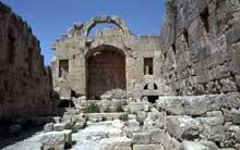 Jordanie�: Jerash, l��glise saint Jean Baptiste