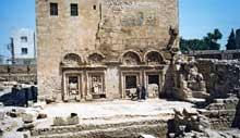Nusaybin-Nisibis en Turquie: l'église «Mar Joukoub» ou Saint Jacques