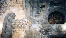 Nusaybin-Nisibis en Turquie: l'église «Mar Joukoub» ou Saint Jacques. L'intérieur