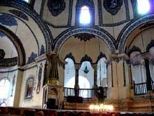 Constantinople: Saints Serge et Bacchus: l'intérieur