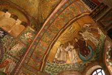 Ravenne: saint Vital: l'intérieur