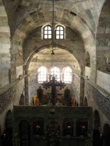 Paros: Panaghia Ekatontapiliani (Vierge aux Cent Portes). L'intérieur