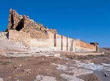 Haïdra (Tunisie): le fort Byzantin
