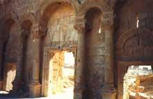 Rusafah en Syrie: porte Nord de l'ancienne Sergiopolis