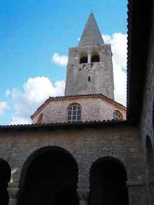 Croatie: Parenza-Porec: la basilique saint Euphrasius