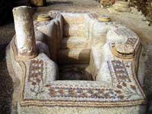 Sbeitla (Tunisie): baptistère du VIè