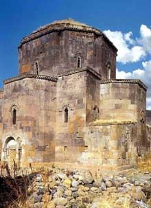 Mastara (Arménie): l'église saint Jean