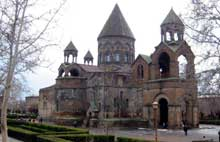 Echtmiadzin / Vagarchapat (Arménie): la cathédrale