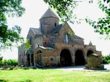 Echtmiadzin / Vagarchapat (Arménie): sainte Gaiané
