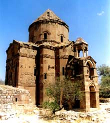 Akdamar (Arménie): monastère sainte Croix (653)