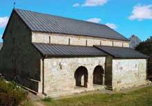 Ravenne: l'oratoire de l'église de la Sainte-Croix, dit Mausolée de Galla Placidia. L'intérieur