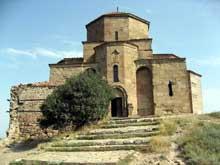 Jvari en Géorgie à Mtskheta: le monastère