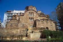Thessalonique: l'église Hagios Pantéleimôn