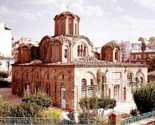 Thessalonique: l'église des Saints Apôtres (Agioi Apostoloi)