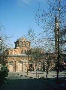 Constantinople: l'église Saint Sauveur in Chora, (Kariye Kilisesi ou Kariye Camii), du XIè