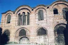 Constantinople: l'église du Pentocrator (Molla Zeyrek camii)