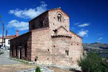 Kastoria en macédoine: la basilique Agioi Anargiroi