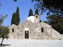 Crète: église de la Panagia Kera. XIIIè