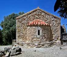 Crète, Aghia Triada: église byzantine du XIè