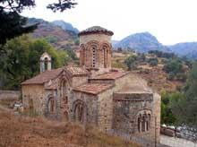 Crète: église d'Agia Nikolaos, XIè
