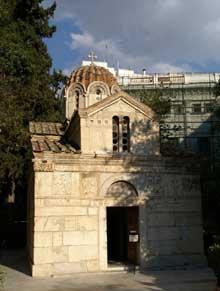 Athènes: la Petite Métropole