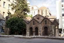 Athènes: l'église Kapnikaréa