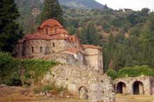 Mistra: l'Hodegetria ou Aphendiko du Brontochion. Fin XIIIè – début XIVè