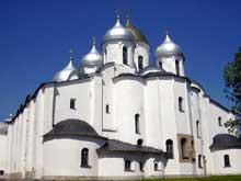 Novgorod: sainte Sophie (1045-1050)