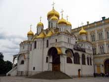 Moscou: l'église de l'Annonciation