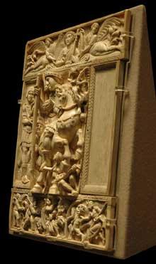 Le Dyptique Barberini. Début VIè. Päris, musée du Louvre