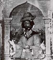 MichelVIII Paléologue, XV° siècle, monastère Sainte Catherine, Mont Sinaï