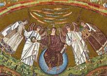 Ravenne, saint Vital: mosaïque de l'abside