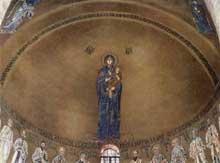 Torcello: santa Maria Assunta: mosaïque de l'abside