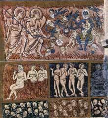 Torcello: santa Maria Assunta: mosaïque du Jugement dernier