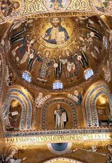 Palerme: chapelle Palatine: mosaïques