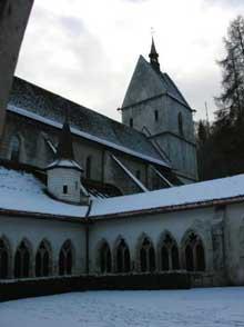 Saint Ursanne (Jura): la collégiale
