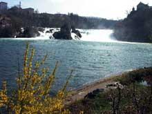 Schaffhouse: les chutes du Rhin
