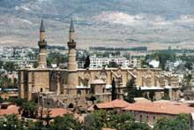 Ile de Chypre. Nicosie, la cathédrale Hagia Sophia (Sainte Sophie)