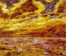 Emil Nolde (1864-1956): mer d'automneVII. 1910