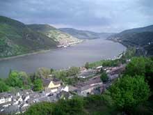 Bacharach sur le «Rhin romantique», entre Bingen et Coblence