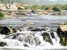 Istein en Bade: la barre sur le Rhin