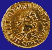 Monnaie d'or de Charlemagne