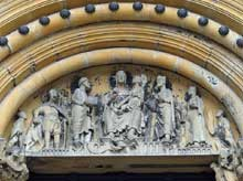 Bamberg, le Dom: tympan