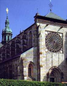 L'abbatiale cistercienne d'Ebrach en Franconie