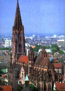 Fribourg en Brisgau. La cathédrale