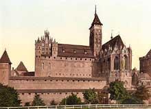 Marienbourg-Malbork: l'abbaye
