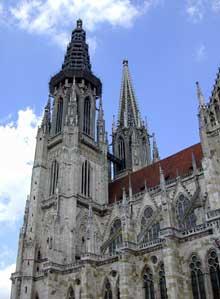 Ratisbonne – Regensburg: le dôme saint Pierre