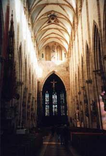 Ulm, le dôme. Nef centrale