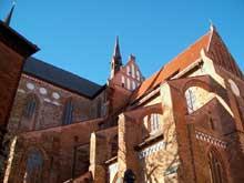 Wismar en Poméranie: l'église saint Georges