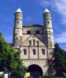 L'abbatiale saint Pantaléon de Cologne. 866-980. Art ottonien